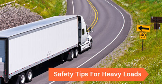 Safety Tips For Heavy Loads