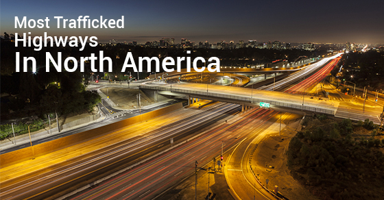 Most Trafficked Highways In North America