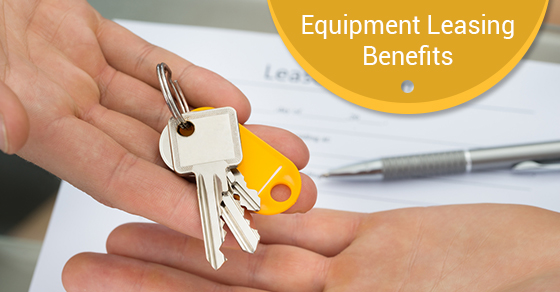 Equipment Leasing Benefits