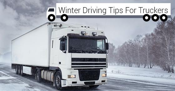 Winter Safety For Trucker