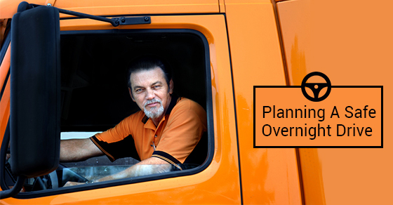 Planning A Safe Overnight Drive