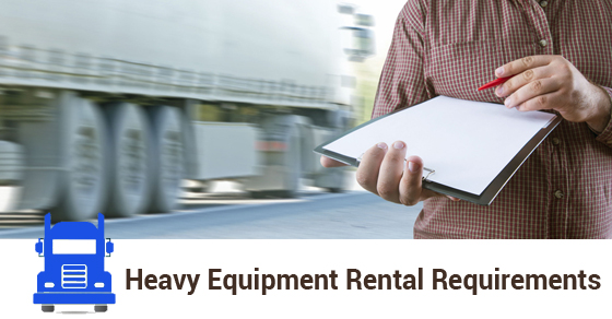 Truck Renting Requirements