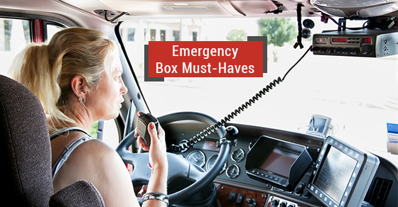 Truck Driver's Emergency Box Must-Haves
