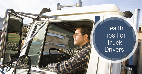 Health Tips For Truck Drivers