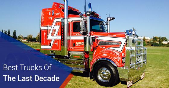 Best Trucks Of The Last Decade