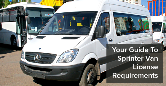 Your Guide To Sprinter Van License Requirements