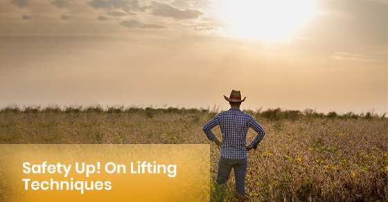 Tips for safe lifting techniques