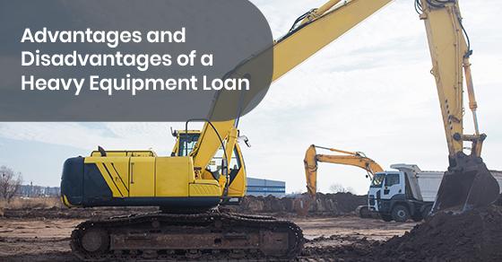 Heavy equipment loans